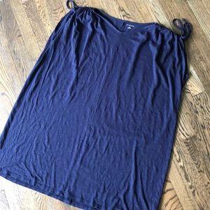 EUC Saks Fifth Avenue dress w/cinched shoulders